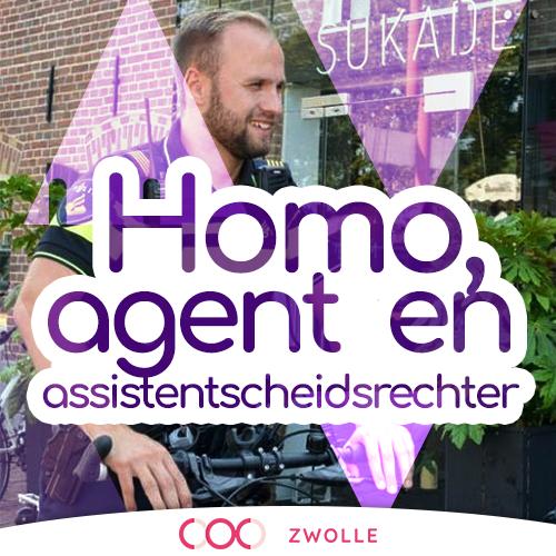 Hoe is het om homo te zijn, politieagent en assistent scheidsrechter